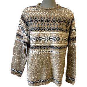 Croft & Barrow Sweater.  Acrylic/cotton/wool blend